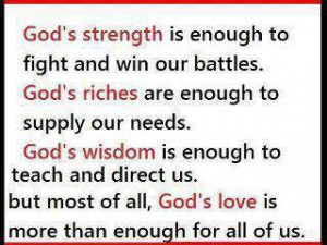 Christian Quotes strength wisdom fight battles teach