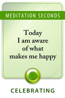 Awareness of happiness