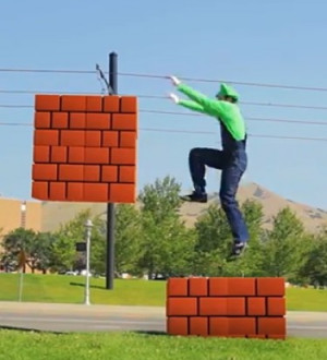 dayum super mario brothers parkour in real life by warialasky august ...