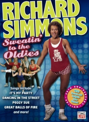 Sweatin' To The Oldies Vol. 1 DVD ~ Richard Simmons, http://www.amazon ...
