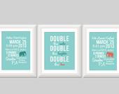 ... Twin Elephant Nursery Decor, Twin Quote, Elephant Nursery, Twin Boys