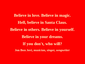 Bon Jovi - Believing in Santa Claus - Day 358