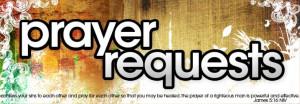 unspoken prayer request