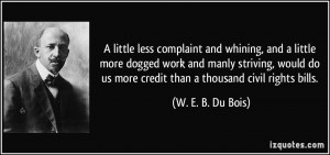 More W. E. B. Du Bois Quotes