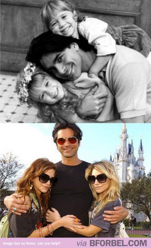 for bel: Michelle Tanner and Uncle Jesse! I loved full house!