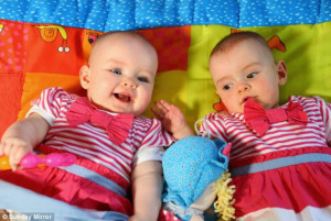 Meet Amy and Katie, the miracle twins born an extraordinary 87 days ...