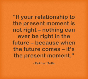 eckhart tolle quote about love