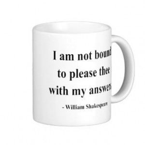 Shakespeare Quotes Mugs