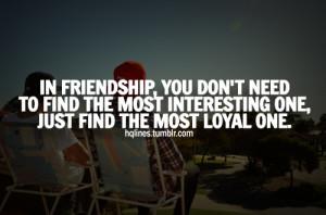 Loyal Friend Tumblr Picture