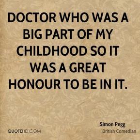 Simon Pegg Top Quotes