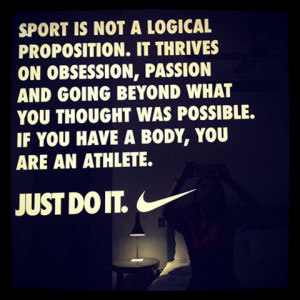 Nike Motivational Quotes For Athletes Nike motivational quotes