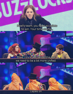 ... mind the buzzcocks, noel fielding, paloma faith, quote, tim minchin