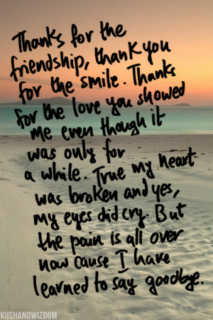 Goodbye Love Quotes Tumblr Kushandwizdom love