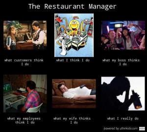 restaurant manager memes