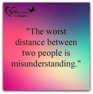 how to solve misunderstanding between lovers