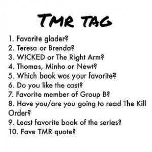The Maze Runner Tag1. Newt obviously2. I don't like either of them ...