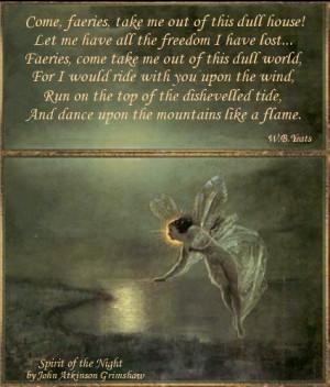 Grimshaw and W.B. Yeats |