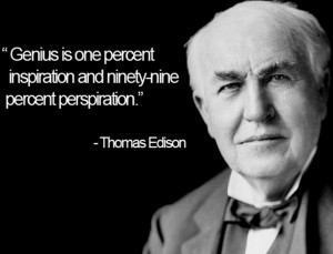... Thomas Alva Edison died from complications of diabetes at the age of