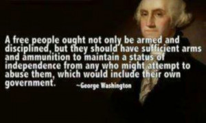 My right to bear arms