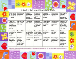 christian affirmations | ... Calendars of Daily Christian Love ...