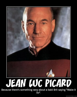 And Jean Luc Picard. Just because. =D