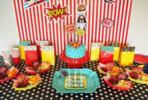 An adult super hero party would be fun, too.: Party Favors, Decoration ...