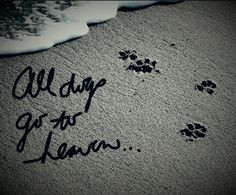 all dogs go to heaven more all dogs go to heaven quotes left paw ...