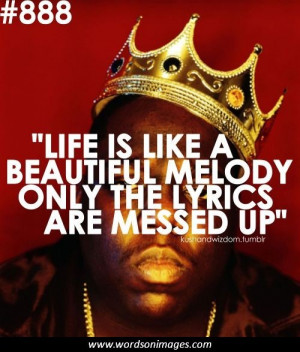 biggie quotes about success