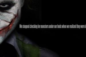 Batman Joker The Dark Knight Heath Ledger Quotes Typography The Joker