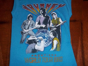 vintage journey 1983 frontiers concert t shirt small s