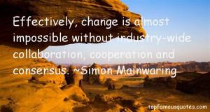 Simon Mainwaring Quotes Pictures