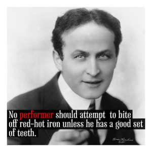 Home Harry Houdini Quote Canvas Art Print #4072