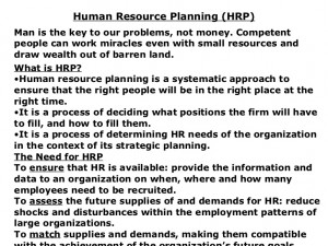 Example of a Recruitment Plan