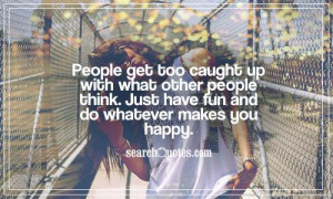 Being Happy With Yourself