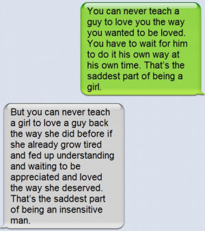 Facts About Guys ~ Love Quote
