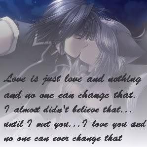 anime love quote Image