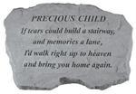 Precious Child Inscription Stone