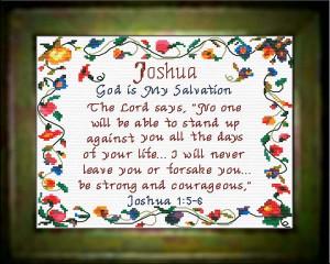 Name Blessings - Joshua