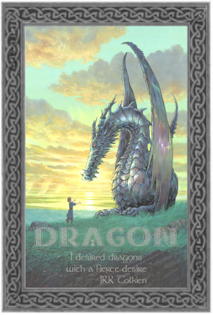 studio ghibli anime dragon tolkien dragon quote