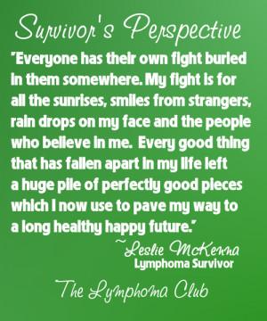 Cancer Survivor's Fight For Sunrises