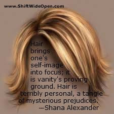 Shana Alexander hair
