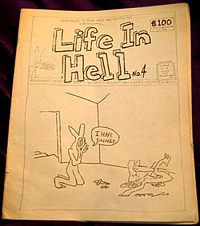 Cover of Life In Hell No. 4, published in 1978