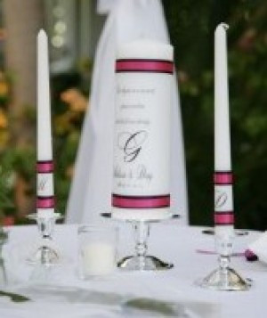 Our memorial candle had the names of our beloved Grandparents who are ...