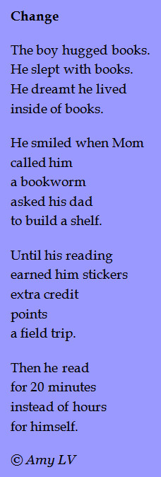 This is poem #6 in Story Poem Week, and even though I post poems about ...