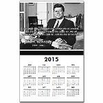 Humanist John F. Kennedy Calendar Print