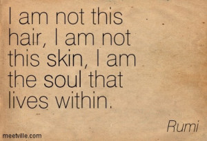 """... essence speaks through me. I have been looking for myself!"""" ~Rumi"""
