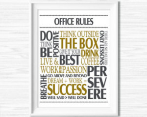 ... Quotes Printable Office Quotes Poster Sayings Canvas Quotes Office
