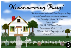 Details about HOUSEWARMING PARTY INVITATIONS
