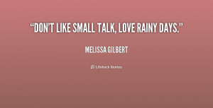 Don't like small talk, love rainy days.