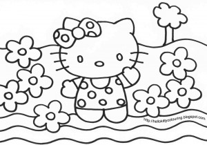 , hello kitty black and white background , heartbroken quotes ...